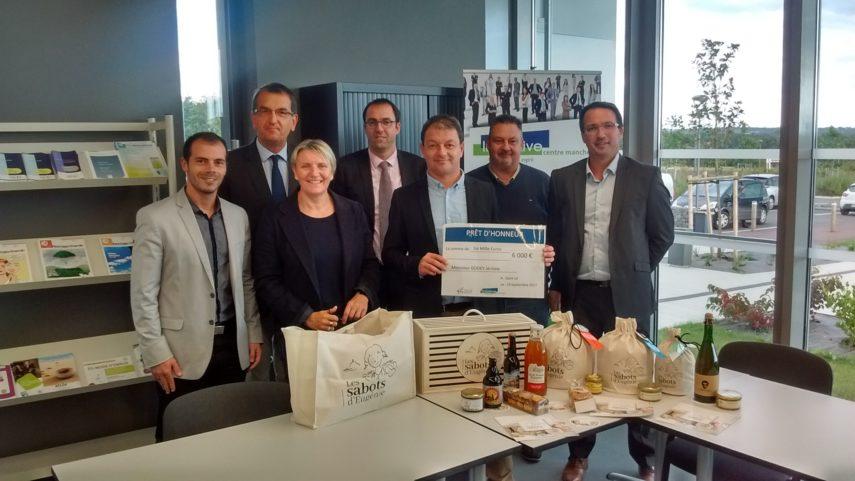 Initiative Centre Manche accompagne Les Sabots d'Eugénie