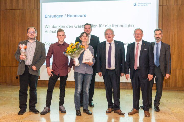 La Chambre des Métiers offre des Poucs' en Allemagne