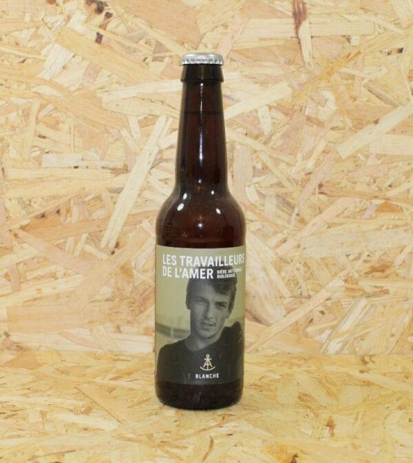cadeau entreprise coffret Bière Blanche Bio 33cl - Les Travailleurs de l'Amer