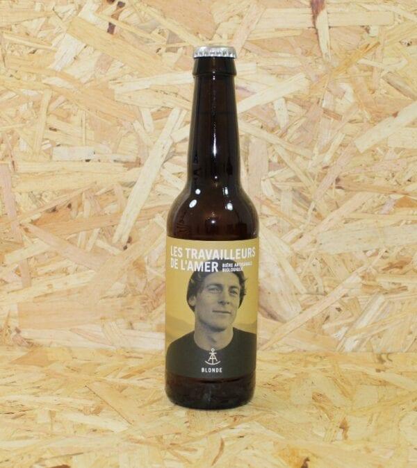 cadeau entreprise coffret Bière Blonde Bio 33cl - Les Travailleurs de l'Amer