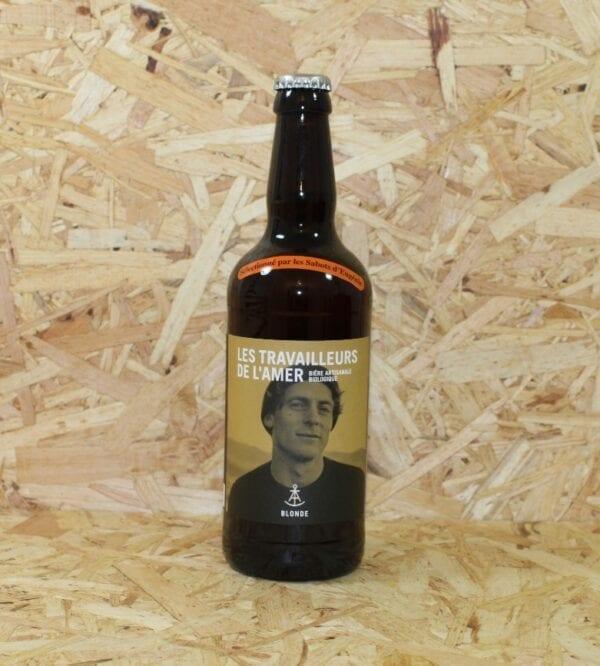 cadeau entreprise coffret Bière Blonde Bio 50cl - Les Travailleurs de l'Amer