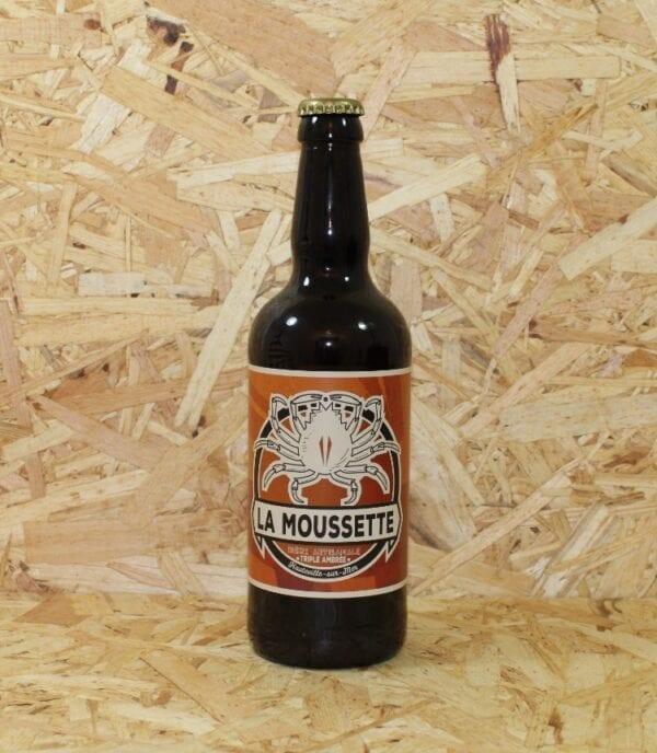"""cadeau entreprise coffret Bière Triple Ambrée """"La Moussette"""" 50cl - Brasserie La Moussette"""