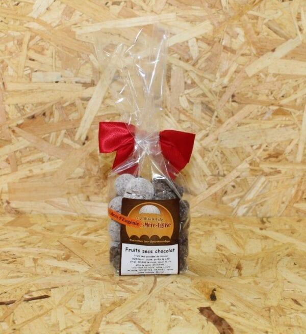 cadeau entreprise coffret Fruits Secs Enrobés de Chocolat 150 g - Biscuiterie de Ste-Mère