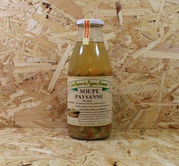 cadeau entreprise coffret Soupe Paysanne en Morceaux 1 L - Les Saveurs du Jardin